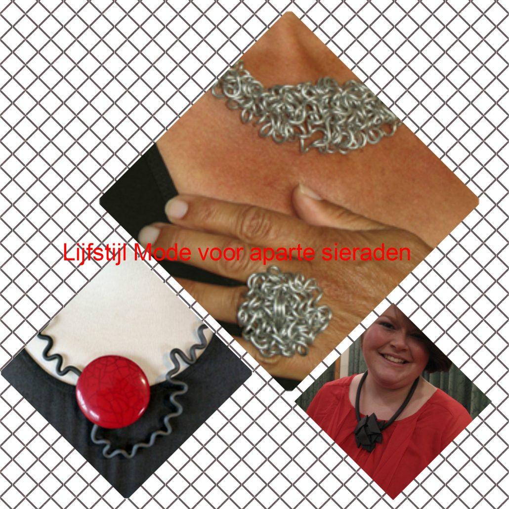 Collectie aparte sieraden bij Lijfslijl Mode