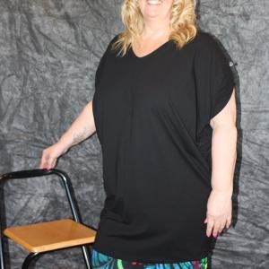 shirt Twister Zwart