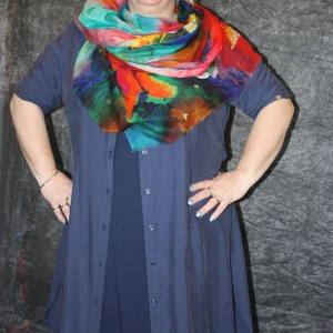 blouse Twister blauw