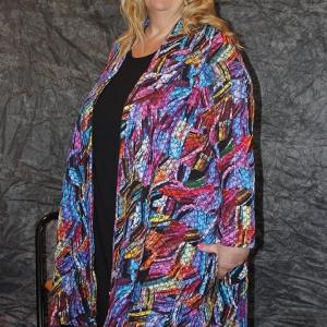 vest Aino colorful